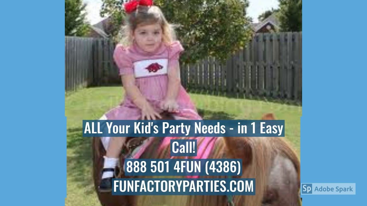 Birthday Party Pony Rides Los Angeles Kids Parties