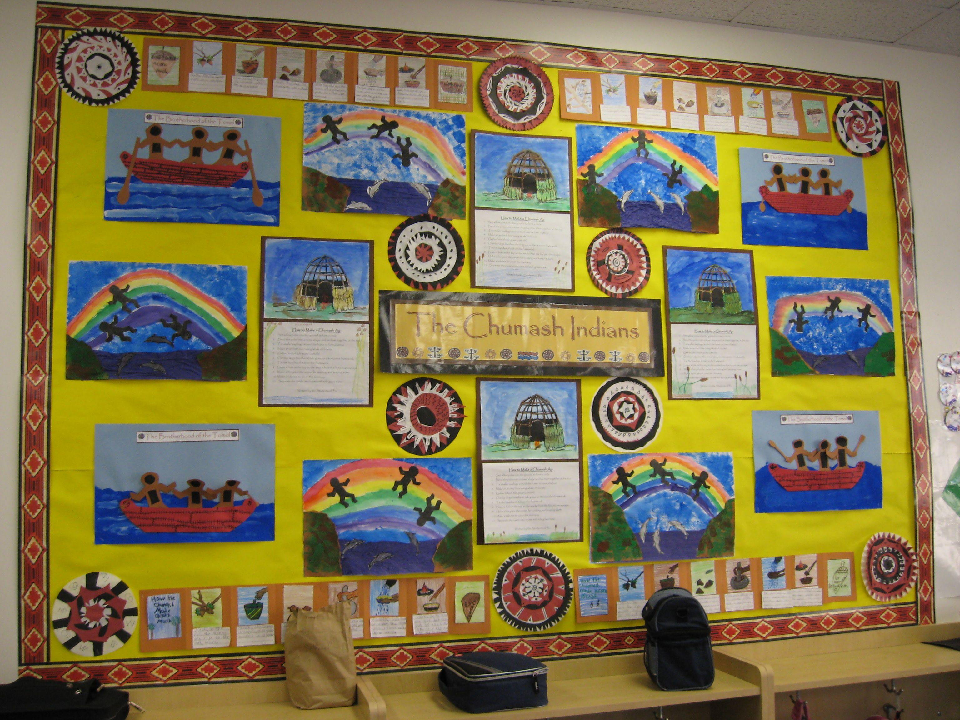 Chumash Bulletin Board