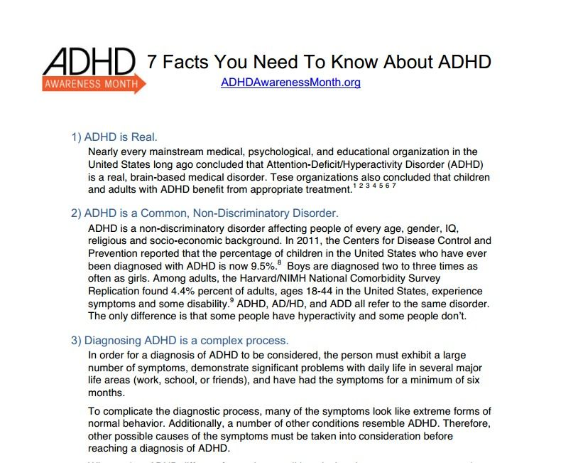 is adhd a legitimate medical condition Attention-deficit hyperactivity disorder (also known as attention-deficit disorder) is in fact a legitimate medical disorder that impacts roughly 10 percent of kids and nearly six percent of .