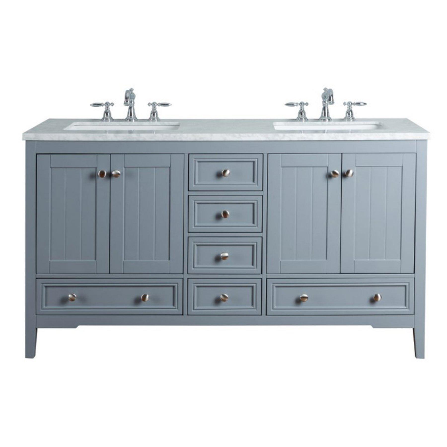 Double Sink Bathroom Vanity  85E21Cd22A2840218203Deff1A9687Ab