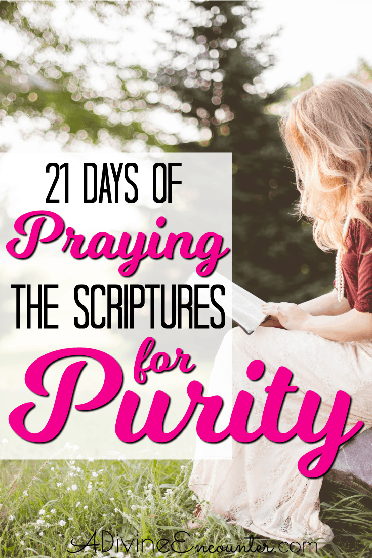 Praying the Scriptures for Purity | A Holy Life | Christian faith