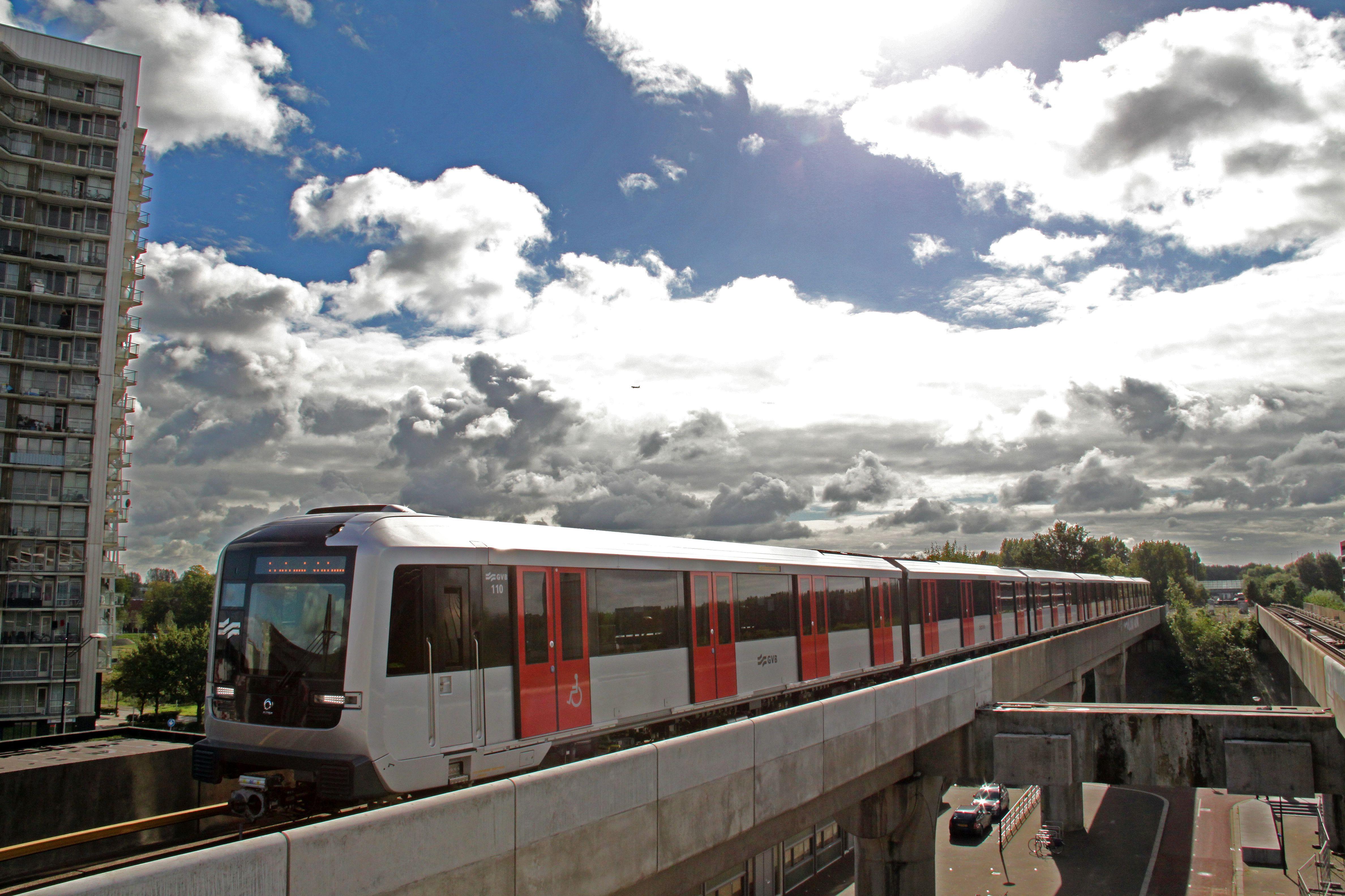Amsterdam Metro Train