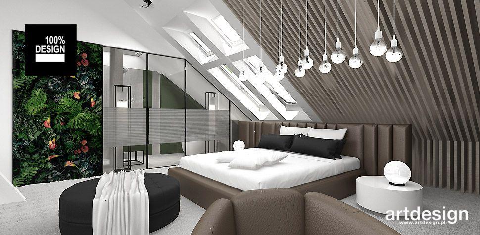 Make Yourself At Home Projekt Sypialni Na Poddaszu