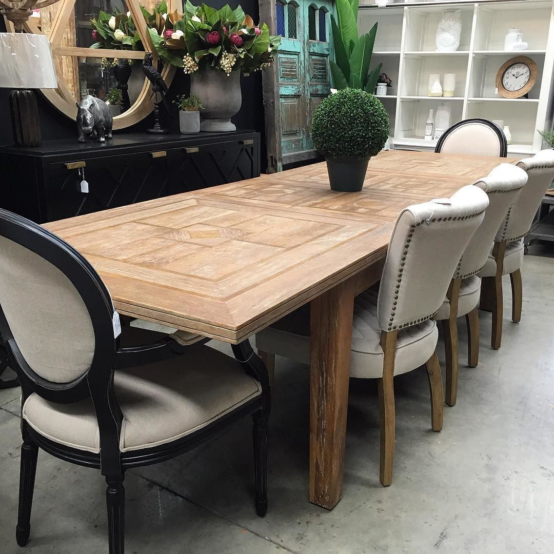 Exceptional Extension Table Our Florence Double Extension Dining Table Has An Intricate  Marble Inlay Pattern. This One Is In The Rustic Finish. Nice Ideas