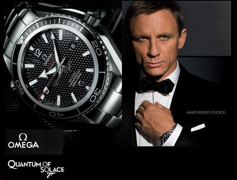 nuovo prodotto 56e79 fb9d0 Contemporary James Bond Watch... Omega Seamaster Planet ...