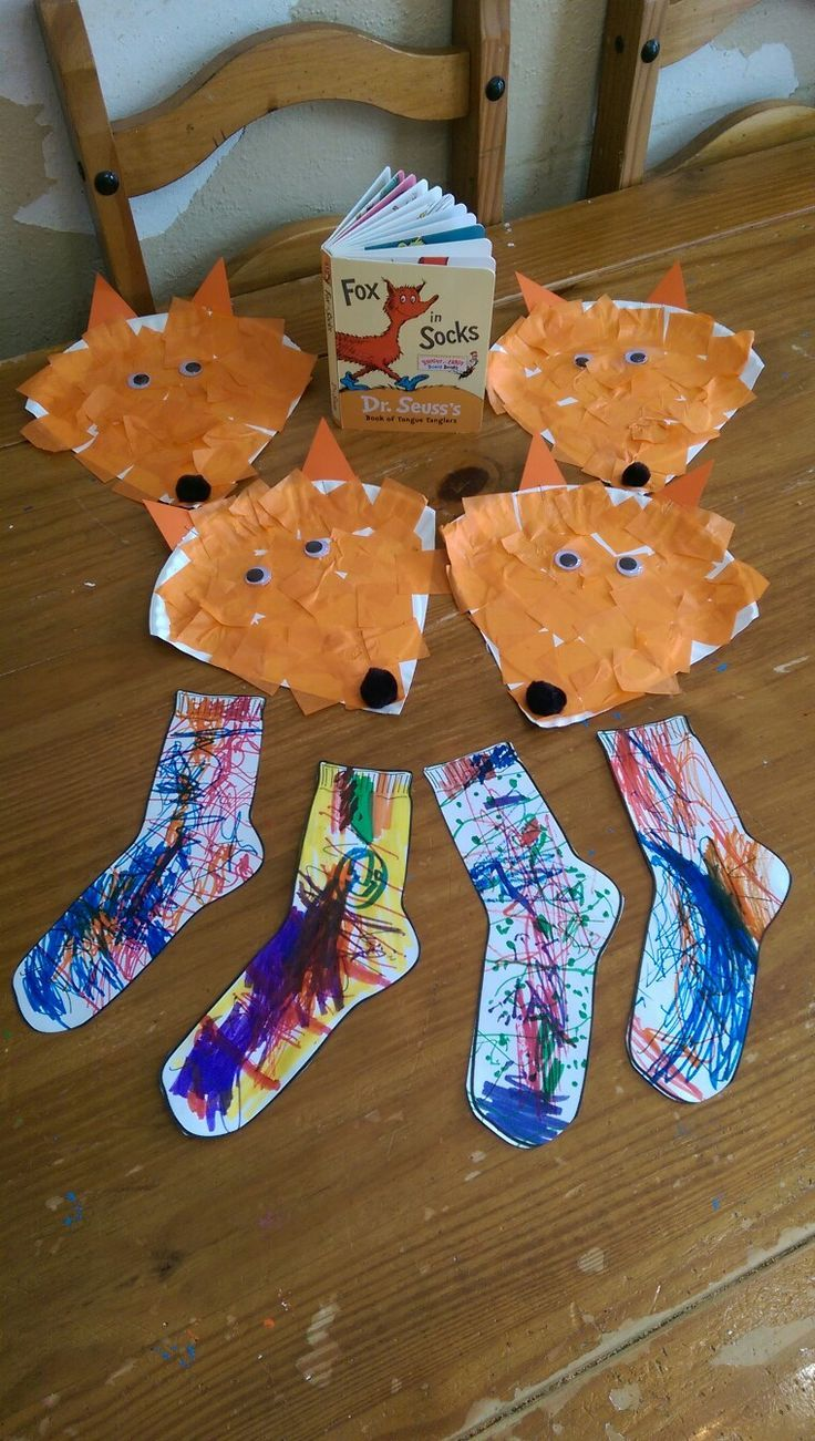 Cute followup to Dr. Seuss Fox in Socks! Photo only. Dr