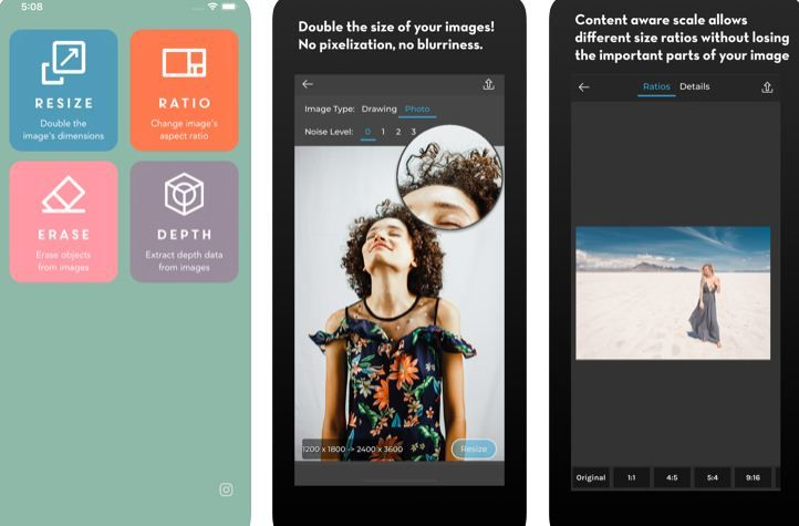 Smart Resize 2x Iphone apps, App reviews, Ipad ios