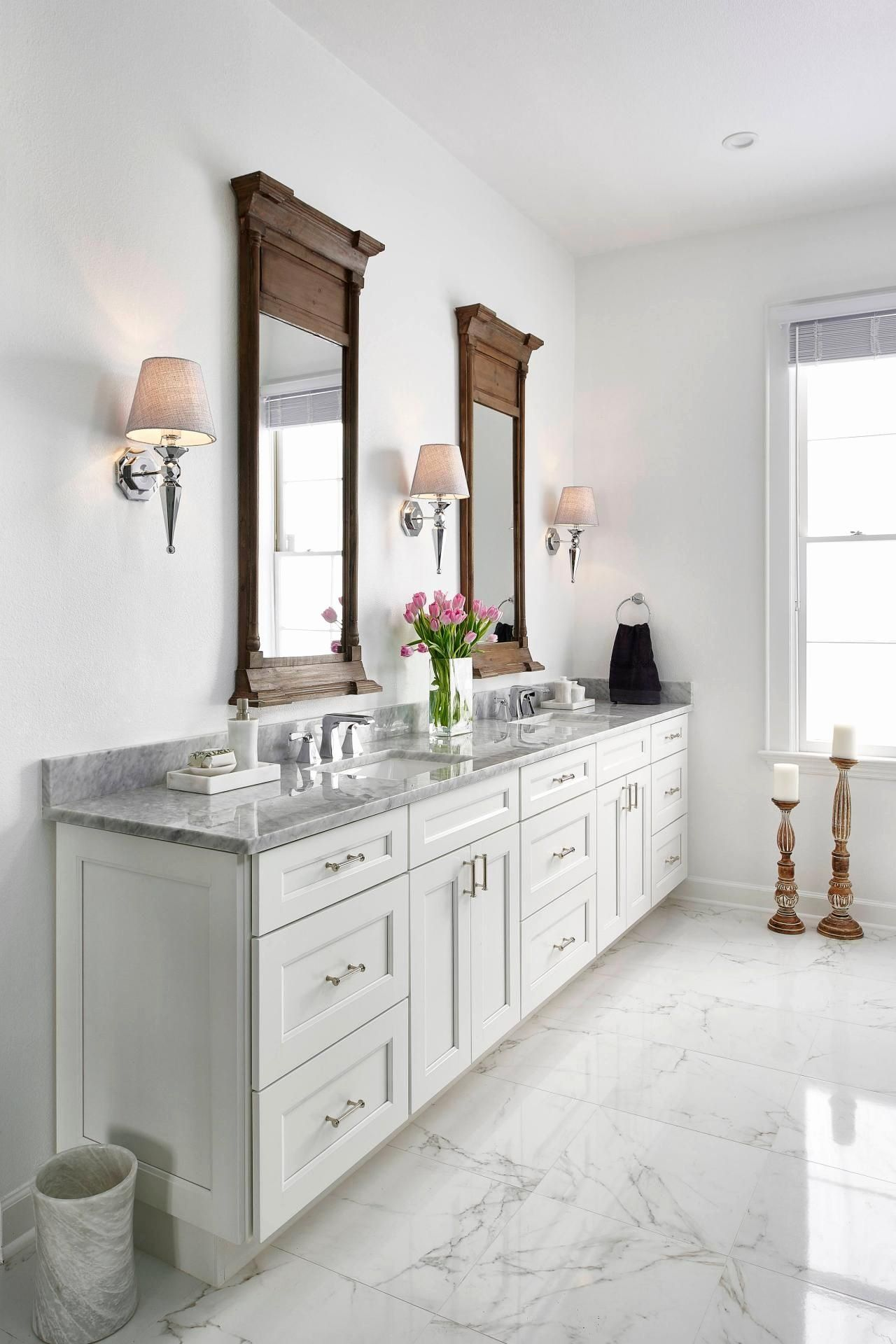 24 White Carrara Marble Bathroom Ideas In 2020 White Master