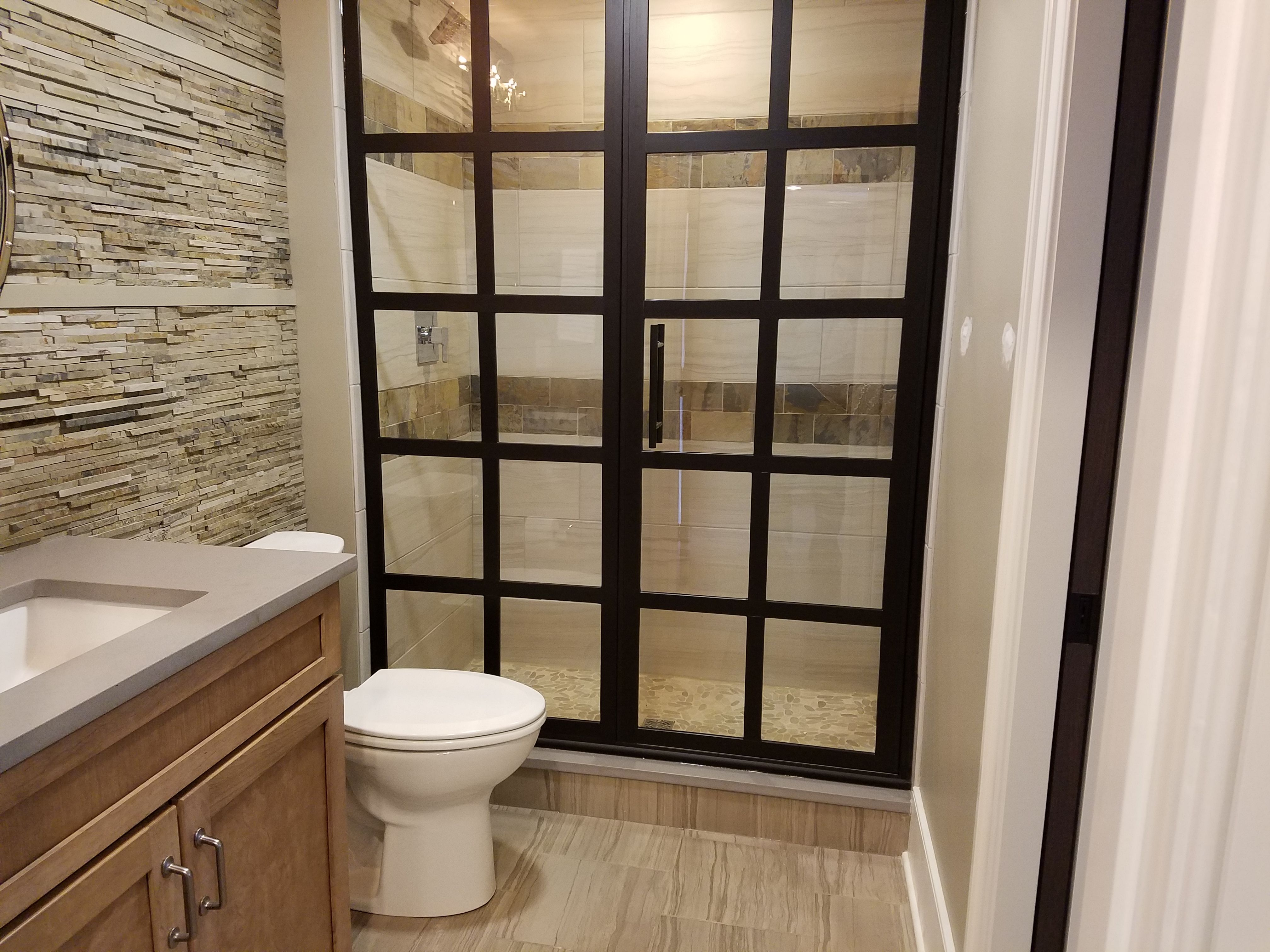 Walltile #wednesday Features A Gorgeous Bathroom Installation From Awesome Bathroom Design Columbus Ohio Review