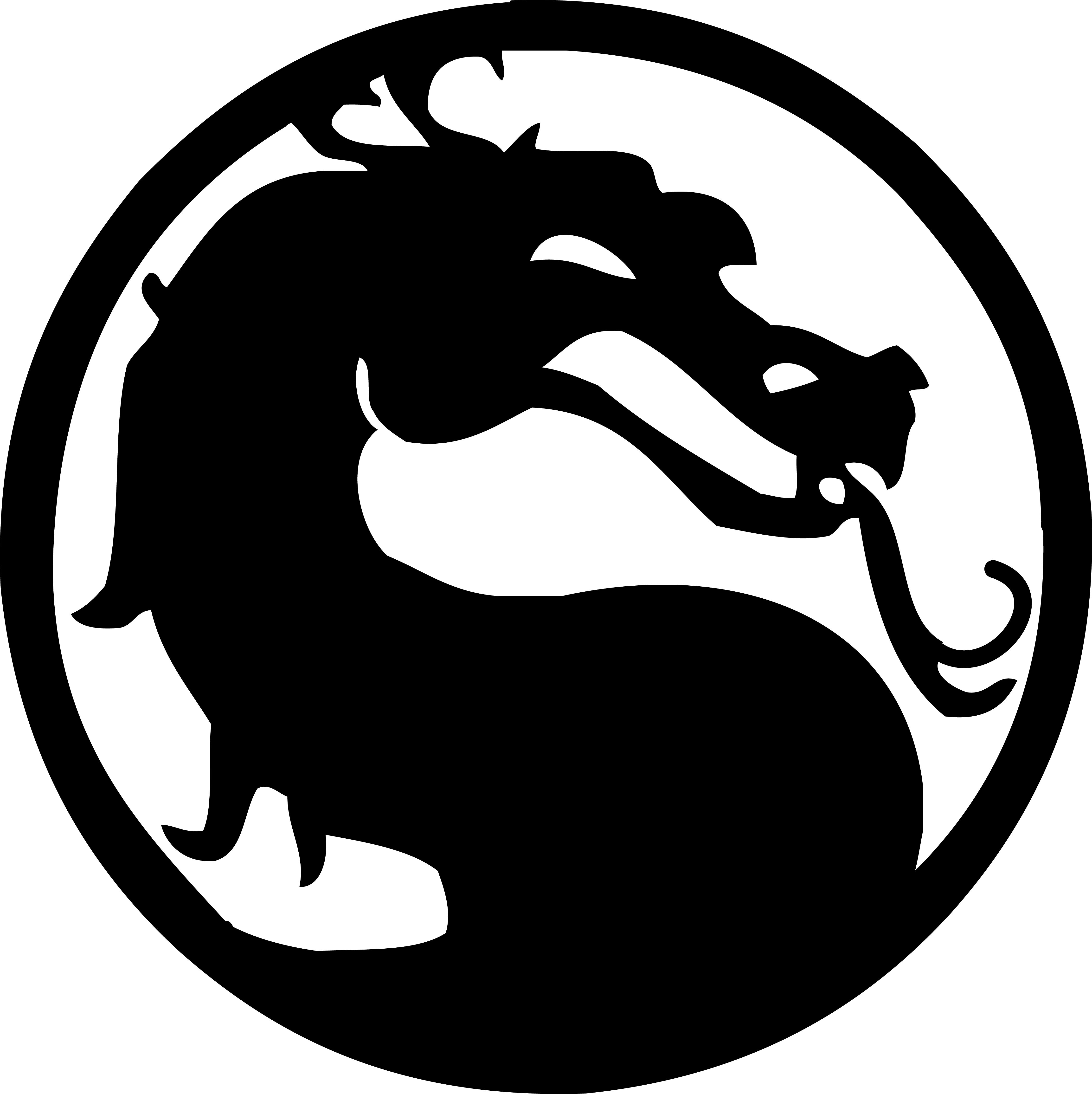 Mortal Kombat Logo Vector Mortal Kombat Eskiz Cherepa Tatuirovki