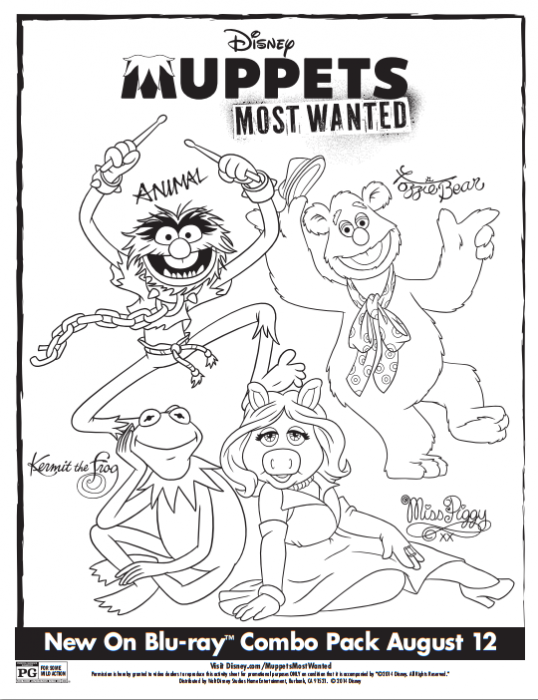 Muppets Most Wanted Activity Sheets #MuppetsMostWanted | Pinterest ...