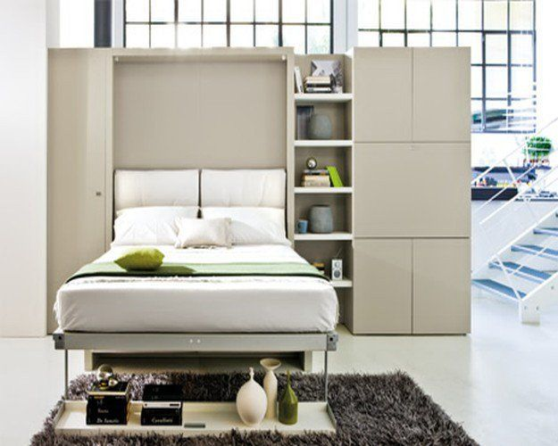4 Murphy Bed Space Saving Ideas For Your Studio Apartment Murphy Bed With Sofa Modern Murphy Beds Murphy Bed Plans