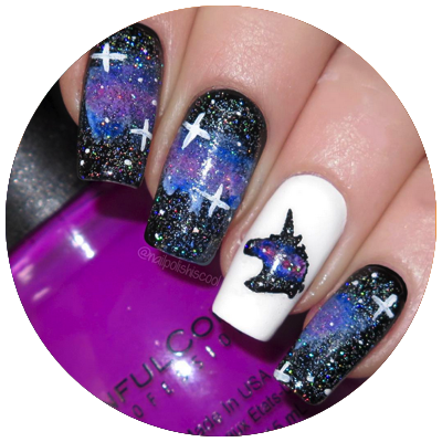 Unicorn Vinyls Nail Stuff Unicorn Nail Art Nail