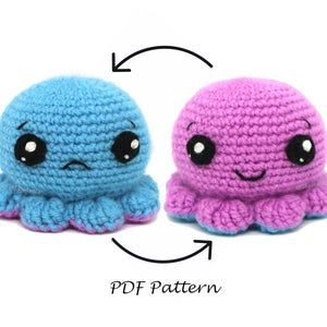 Apollo the Octopus | giant crochet pattern - EASY