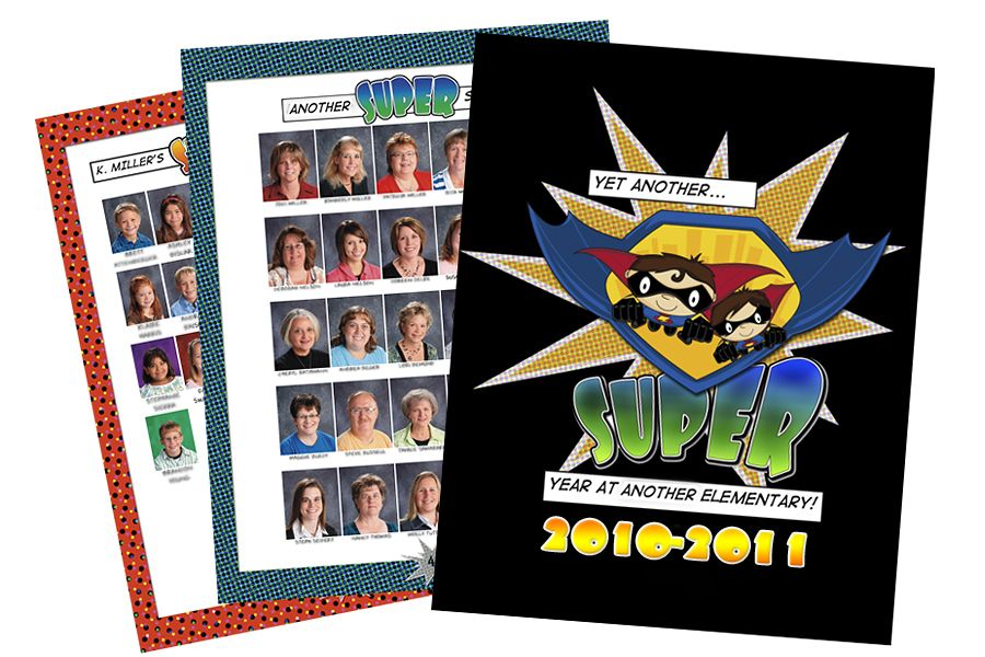 Comic Book Cover Ideas ~ Yearbook themes yearbooks covers and