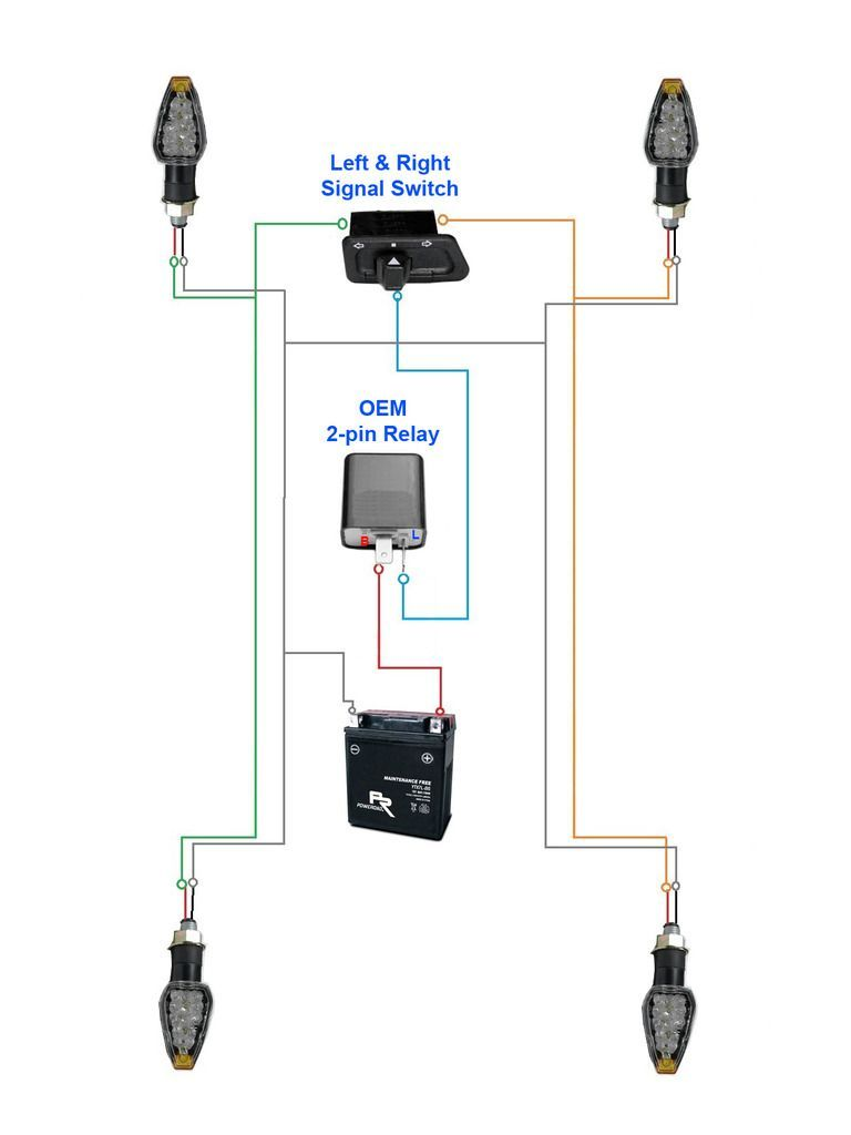 Electronic Blinker Relay CF13 002 in 2020 | Automotive electrical, Motorcycle  wiring, RelayPinterest