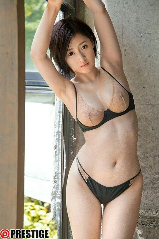 Asian girl see through panty