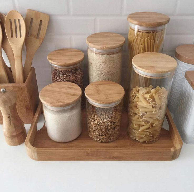 Photo of Kitchen accessories! Wood-loving professionals wood #planned kitchen #c … – Organized K …