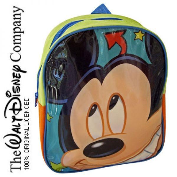 Mickey Mouse Mochila Infantil Colegio Guarderia Muñeco Dibujos Club ...