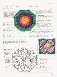 """"""" MOSSITA BELLA PATRONES Y GRÁFICOS CROCHET """": Flowers, Flores a Crochet!"""