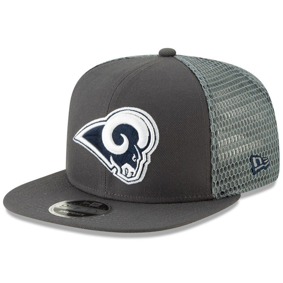size 40 38553 fd3ce Los Angeles Rams New Era Home Turf 9FIFTY Adjustable Snapback Hat - Navy