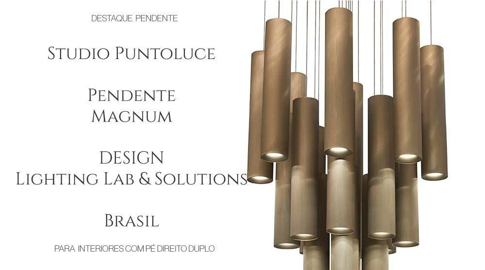 pendente magnum studio puntoluce lighting lab & solutions