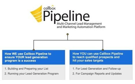 Callbox Pipeline CRM - track and manage your sales leads About
