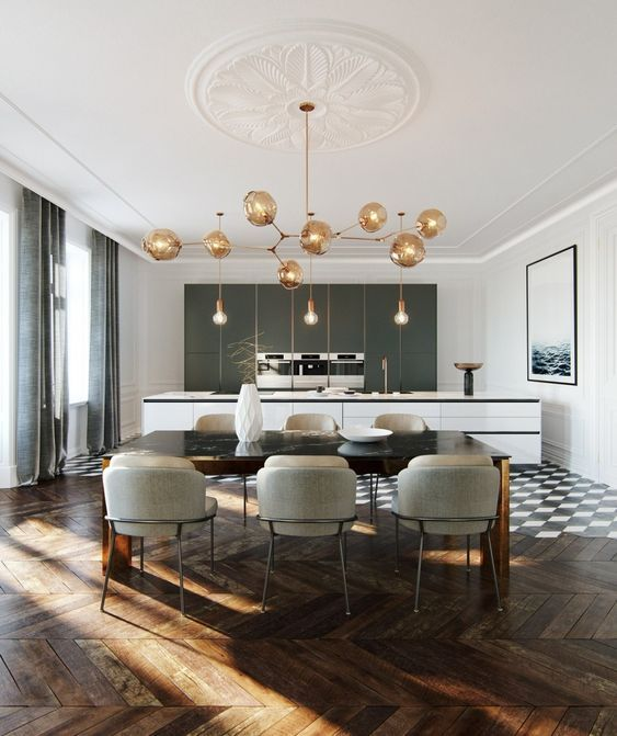 32 Elegant Ideas For Dining: 32 Awesome Contemporary Dining Room Design Ideas In 2020