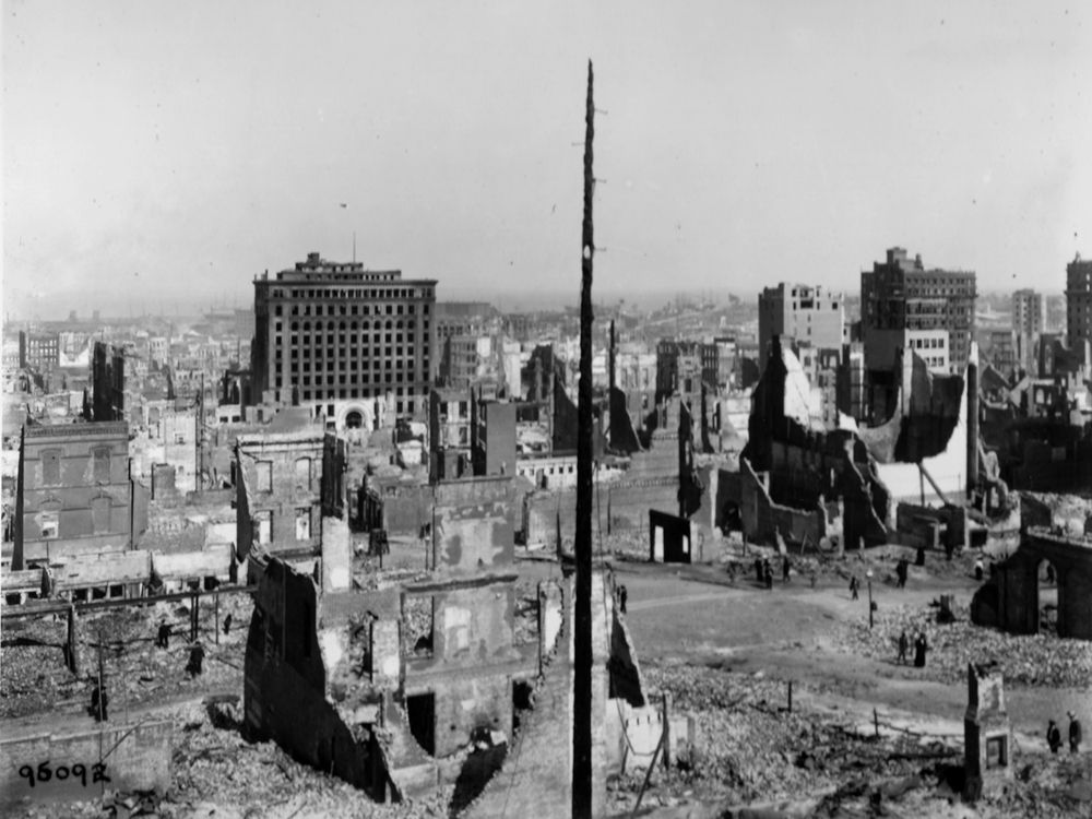 headquarters u army corps of engineers about history historical vignettes relief and recovery 101 san francisco earthquake fire