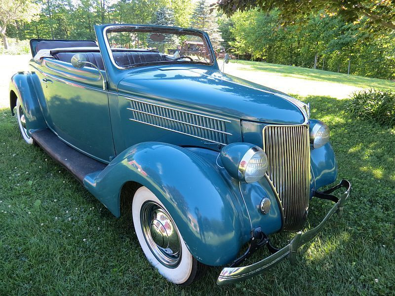 Cool Awesome 1936 Ford Cabriolet Convertible SURVIVOR 1936 Ford ...