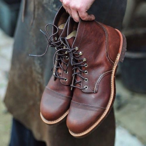 0f27f1a4f81 lifestylestudies: RED WING IRON RANGER | Garment | Shoes, Red wing ...