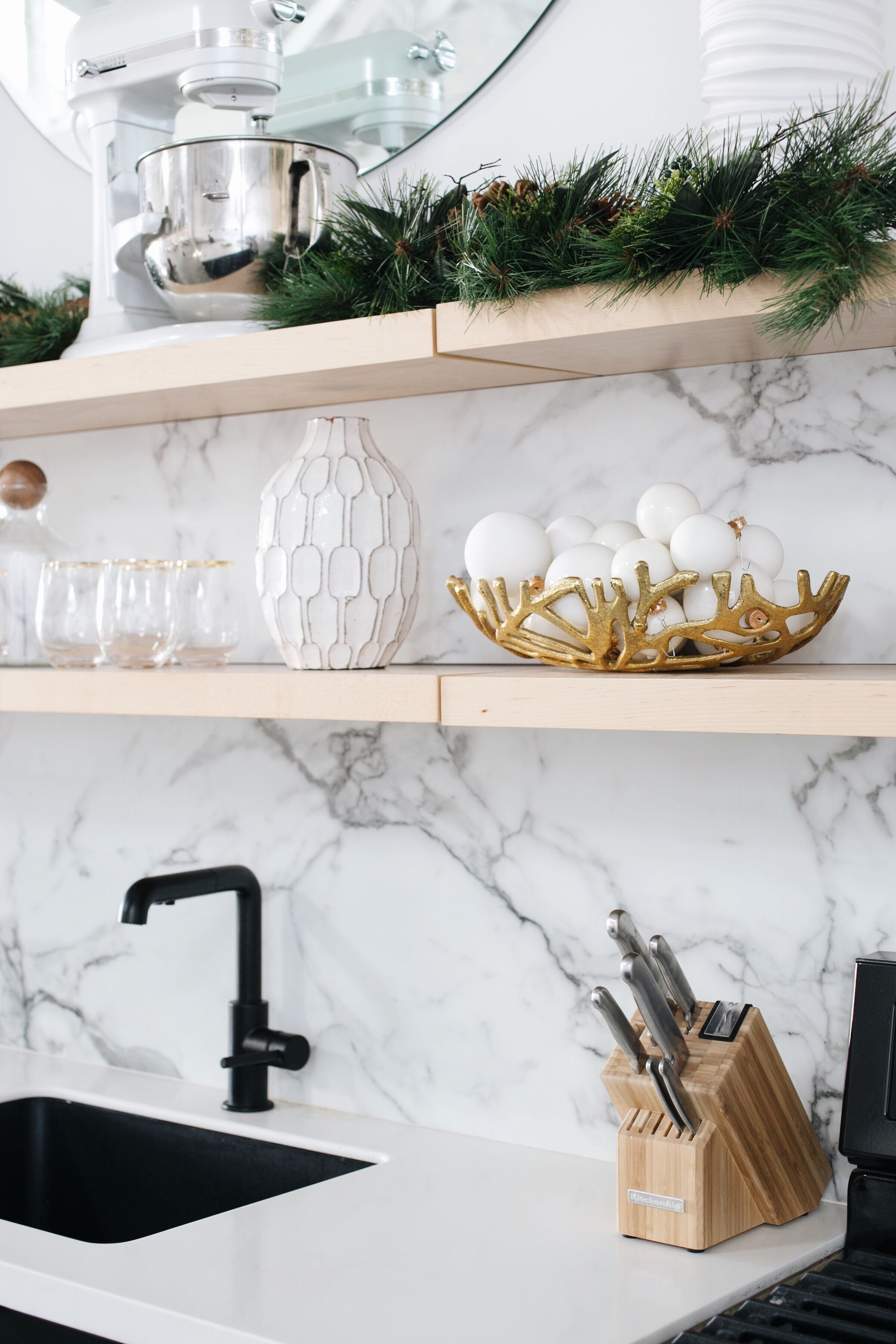 Holiday decorating ideas for the kitchen with overstock