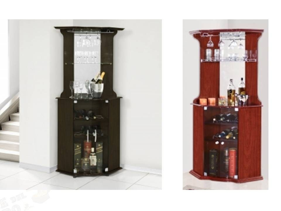 Hermoso bar barsito esquinero botellero 100 mdf oferta for Mueble bar esquinero
