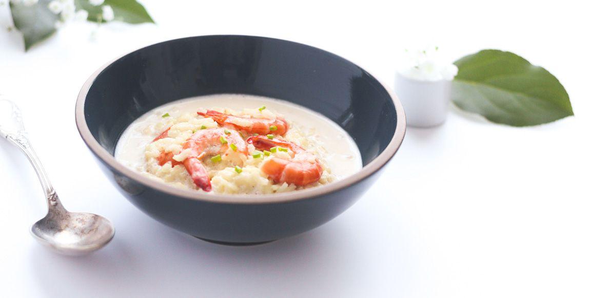 Recette risotto crevettes mulsion lait de coco citron - Faire une emulsion en cuisine ...