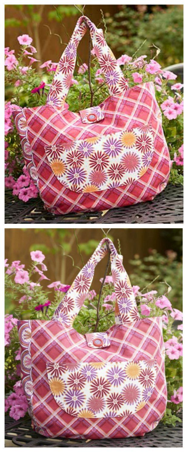 Well rounded tote – free pattern