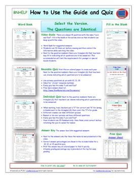 Video Guide Quiz For Bill Nye Water Cycle Printing Google Doc