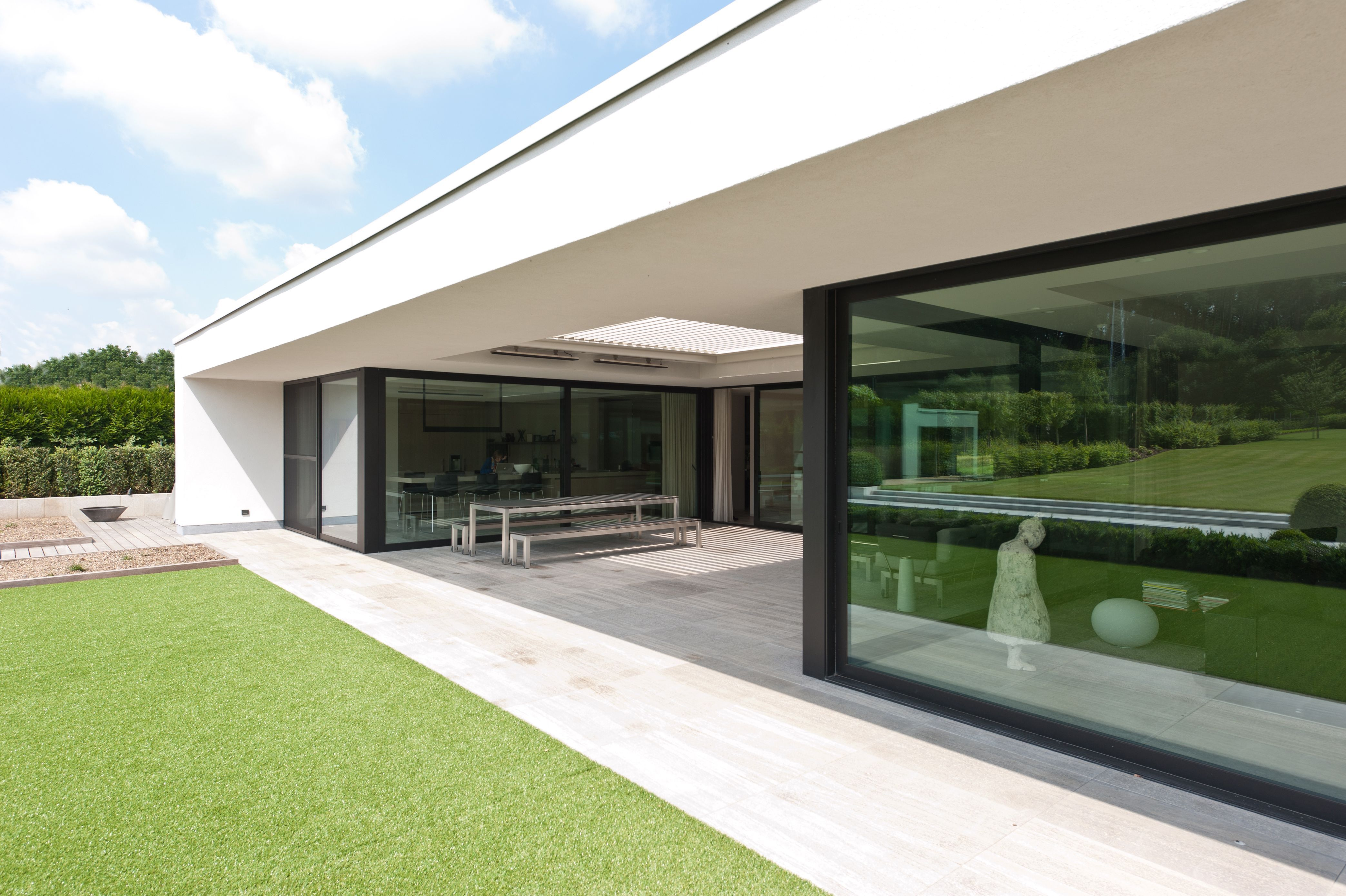 A Louvre Roof By Livium, Truly An Extension Of The