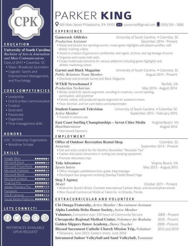 Resume Templates That Will Get You Noticed Cover Letter For Resume Resume Creative Resume