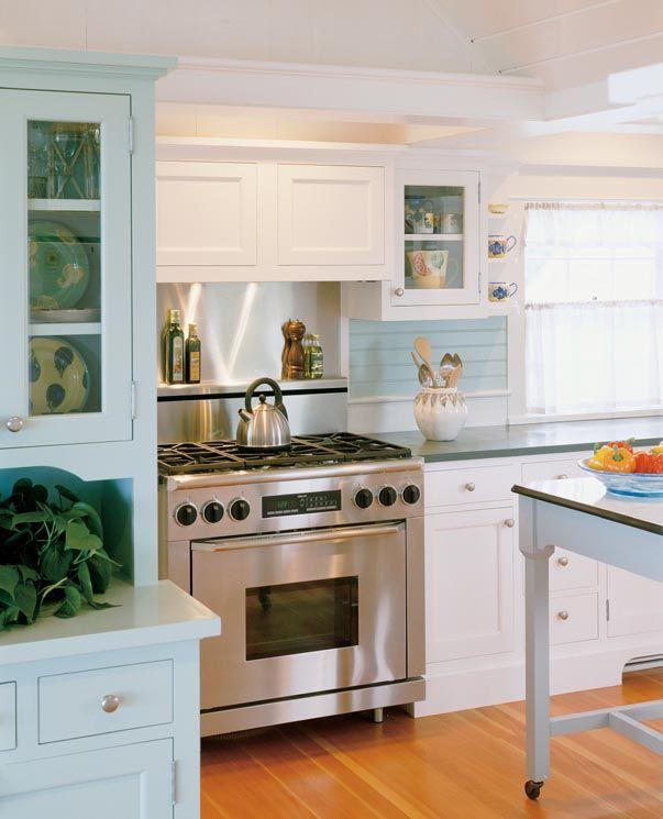 Dream Kitchen Rockland Maine: Chappaquiddick Beach Cottage > Hutker Architects