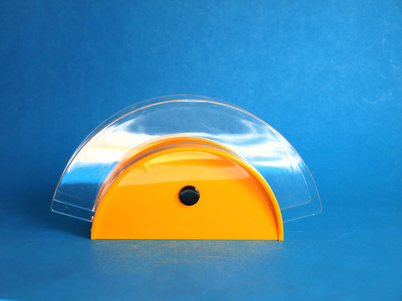 Guzzini Papillon Yellow Napkin Holder - Vintage Retro 80s Serviette ...