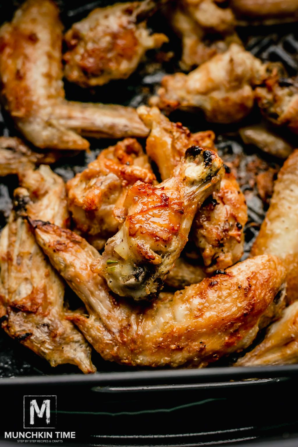 Air Fryer Chicken Wings - with Garlic Mayo Marinate #airfryerchickenwings