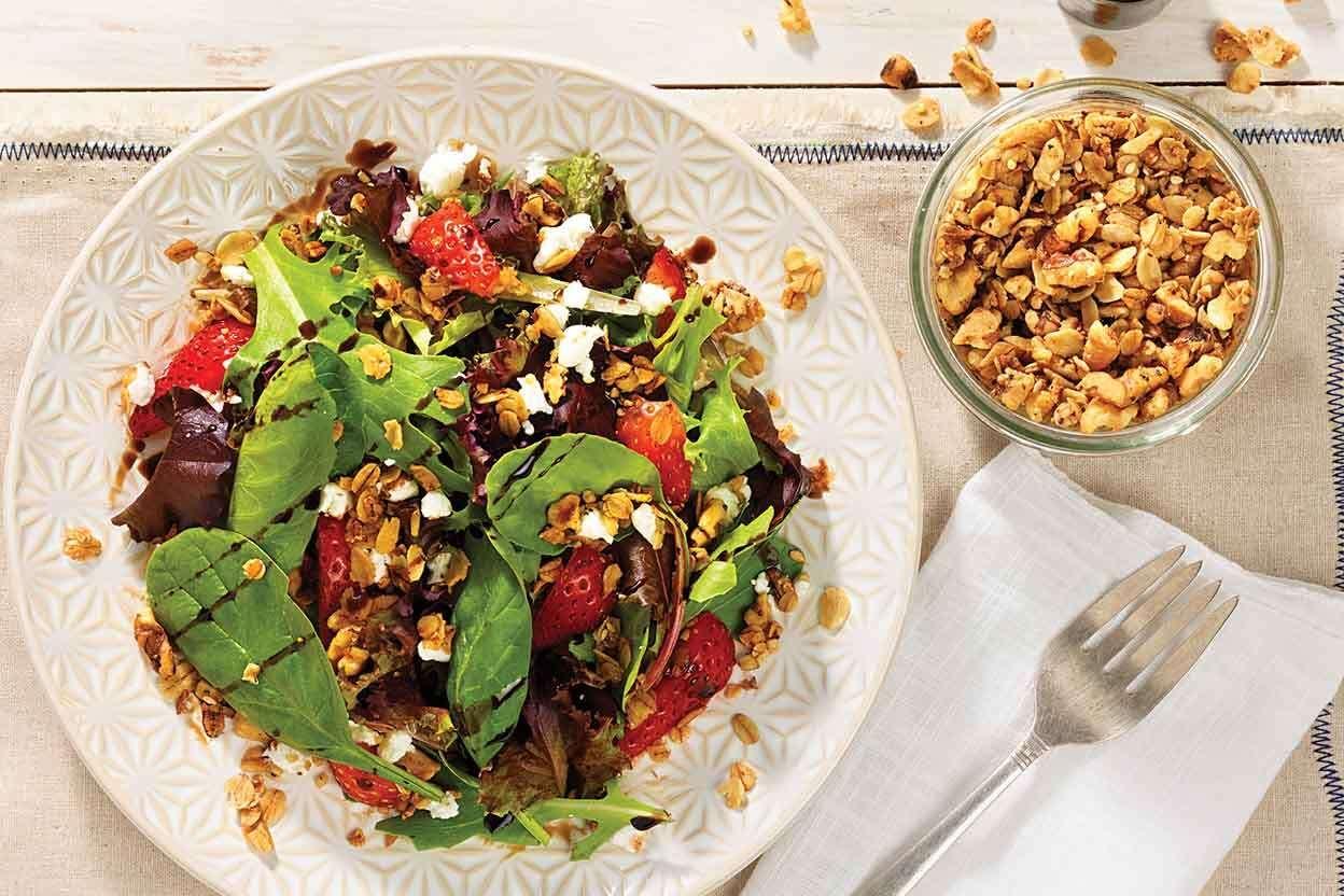 Savory Granola Recipe Savory Granola Clean Recipes Healthy Cooking