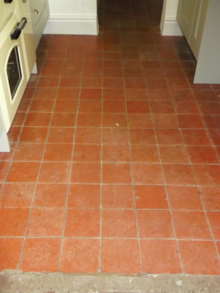 Tile Floor Quarry Tile Flooring In Friston Suffolk Tile Doctor