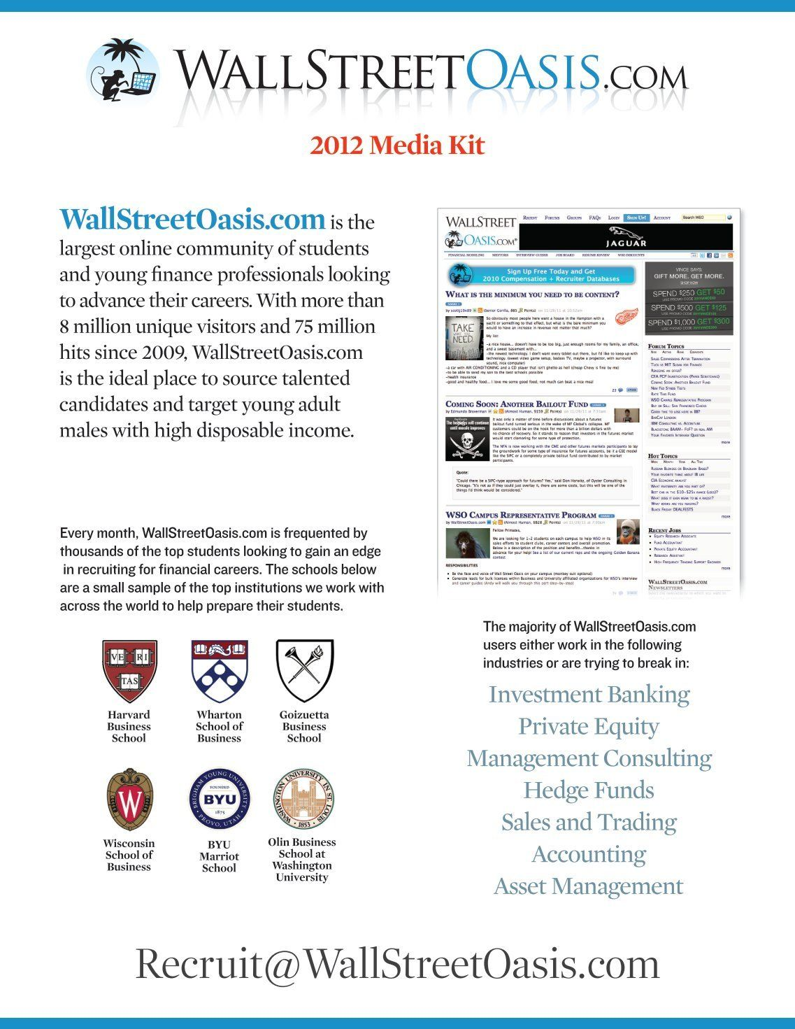 Wall Street Oasis Resume Template New 10 Free Magazines From Wallstreetoasis