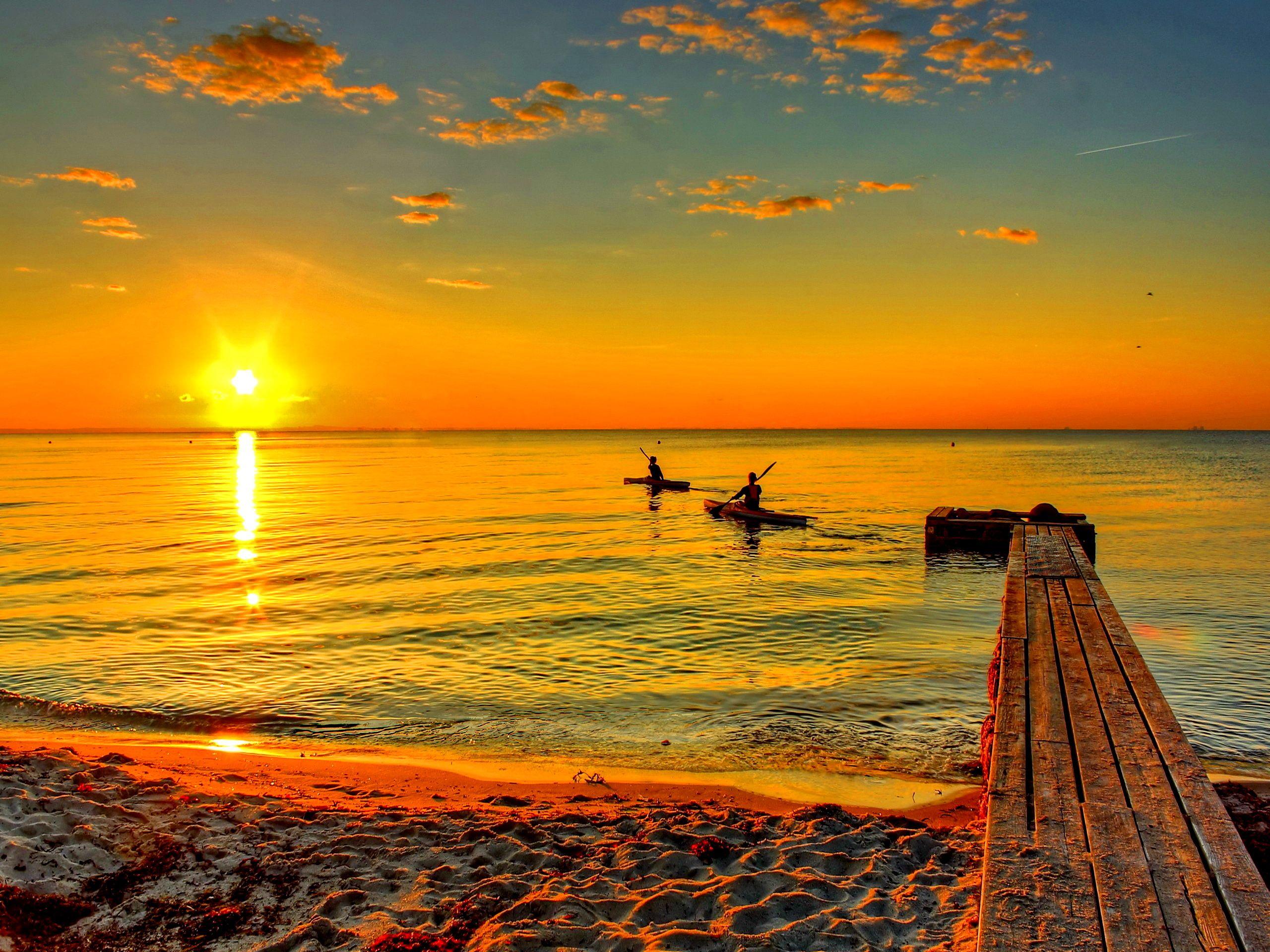 sunrise landscape wallpaper hd
