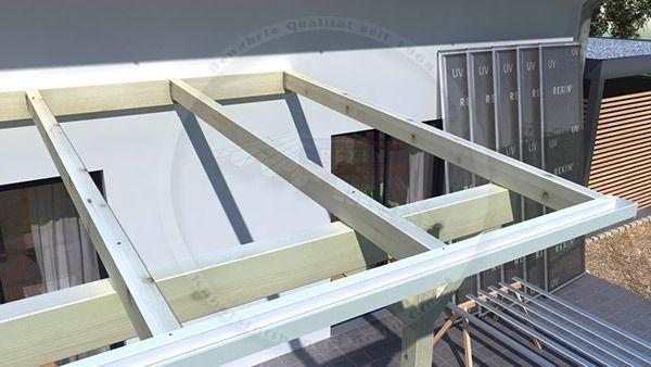 Terrassenüberdachung mit oder ohne Baugenehmigung