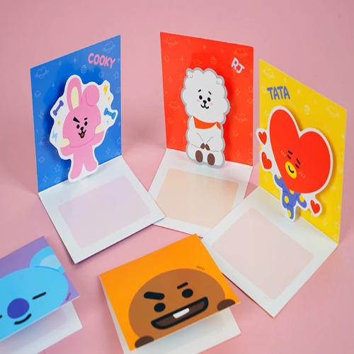 Bts Bt21 Official Pop Up Card Birthday Card Drawing Birthday Cards Diy Cards