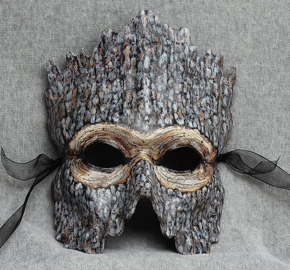 Tree People- woodland mask by Artistathand
