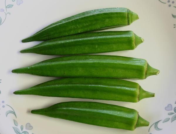 10 Okra Seeds