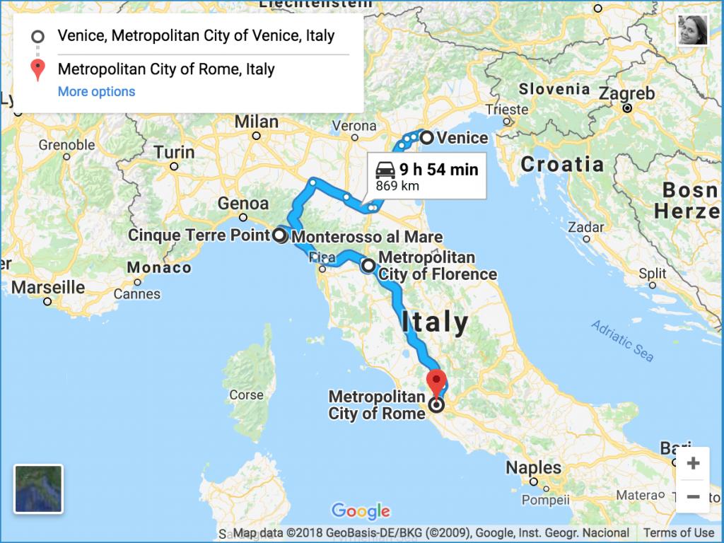 Venice To Rome Itinerary Italy Itinerary Rome Itinerary Italy Travel Guide